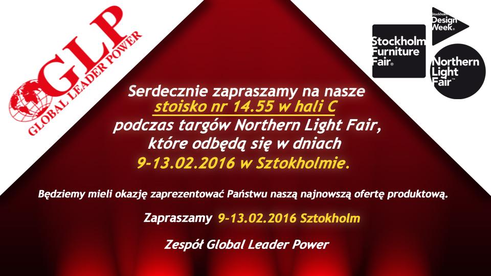 Zaproszenie na Targi Northern Light Fair 9-13.02.2016