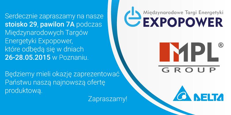 Zapraszamy na targi Expopower 26-28.05.2015