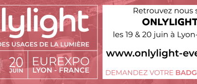 We invite you to visit us at the Onlylight 2019 Fair