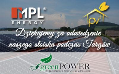 Targi GreenPower 10–12.05.2016 Poznań