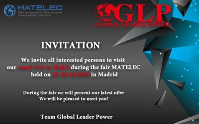 Matelec invitation 25-28.10.2016 Madrid