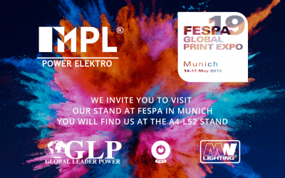 We invite you to visit us at FESPA 2019