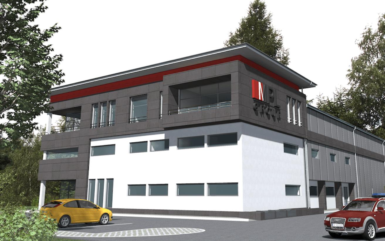 Rozpoczęliśmy budowę nowego centrum produkcyjno – magazynowego