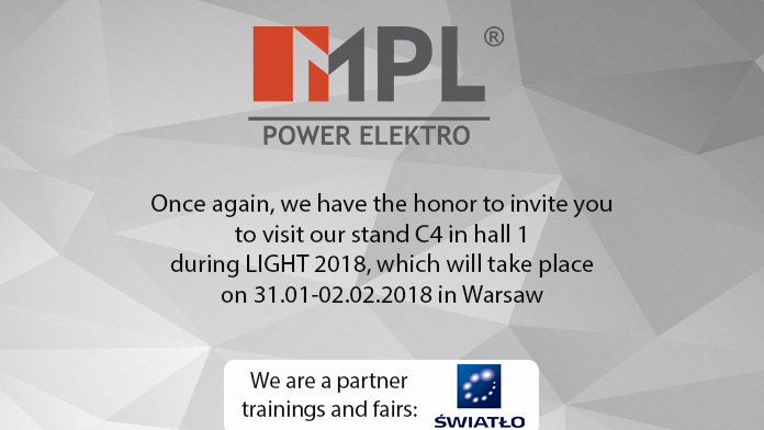 We invite you to the Light 2018 Fair